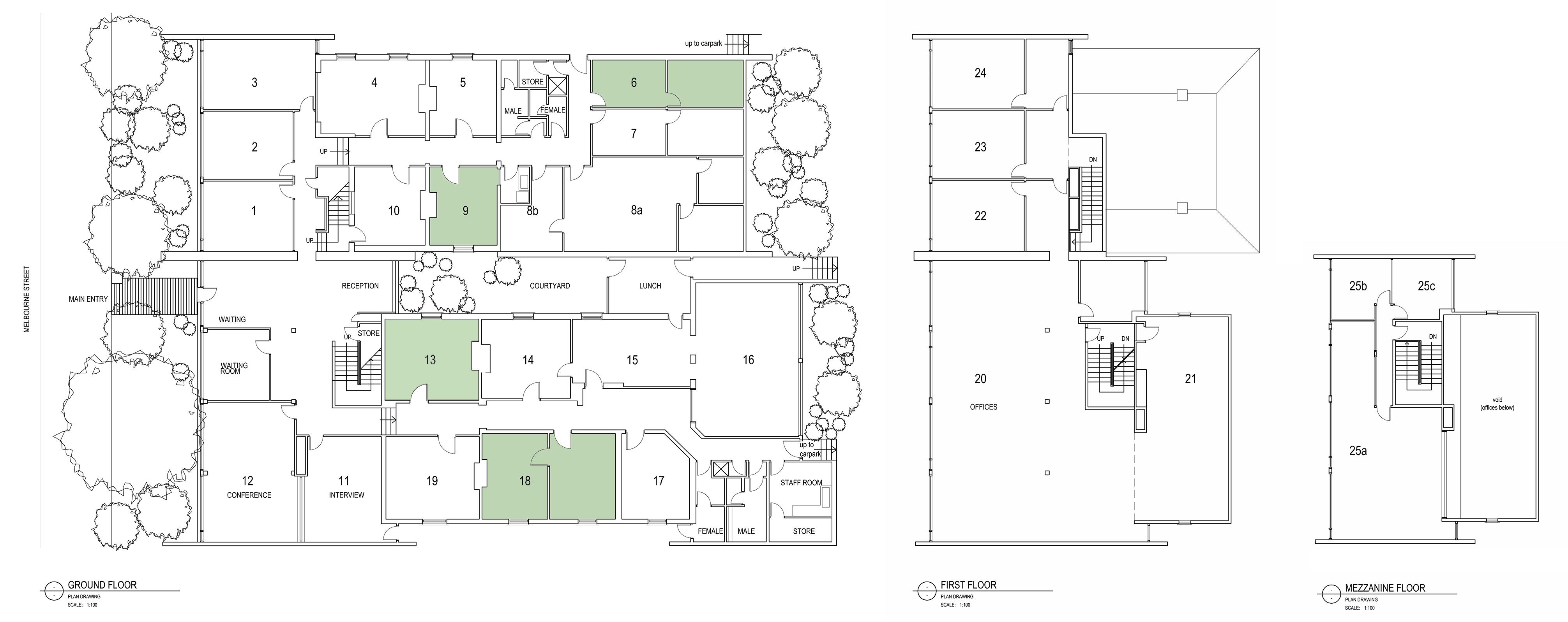 P:262melb262 Melbourne Street_Floor Plans SK A1 L (1)